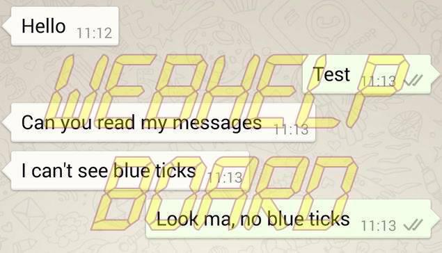 Cómo quitar las marcas azules de WhatsApp alias Leer recibos