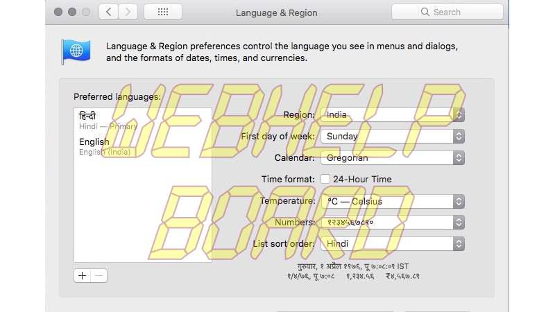 chrome change language mac Google Chrome
