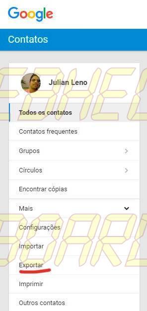 exportar preview google smt julian - Tutorial: como importar e exportar contatos do Gmail e Outlook