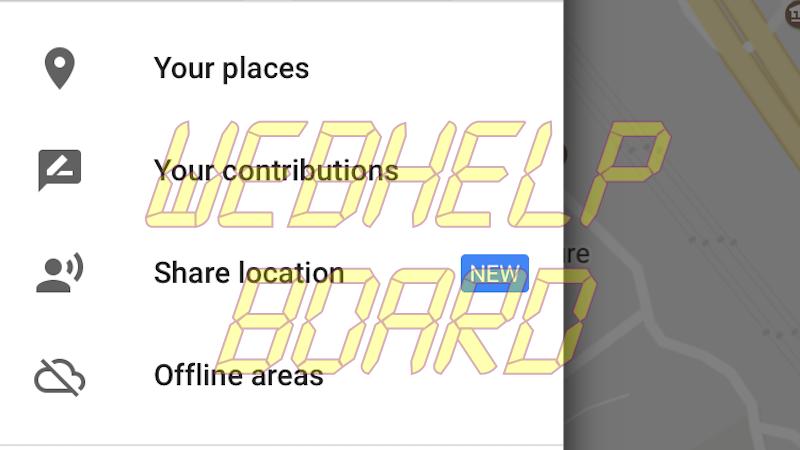 google maps share location google maps