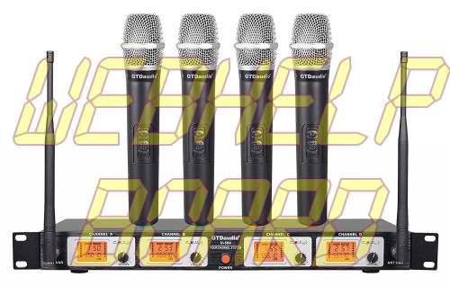 GTD Audio U-504H UHF Wireless Microphone System