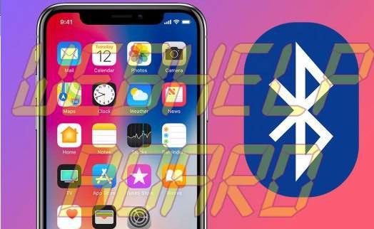 iPhone X Bluetooth issues