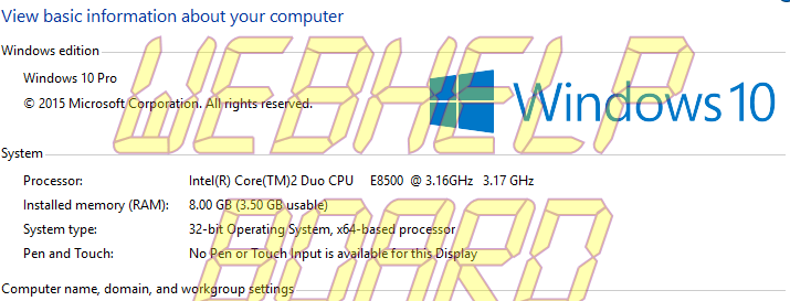 my-computer-properties