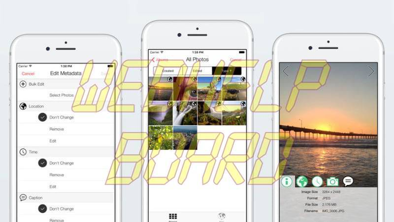 photo investigator ios Photo Investigator permite eliminar metadatos de imágenes en iPhone y iPad