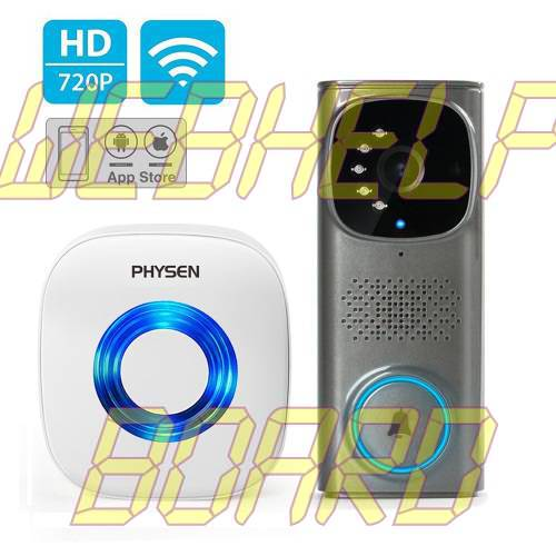 PHYSEN WiFi Camera Waterproof Doorbell