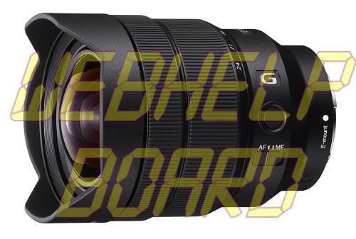 Sony FE 12-24mm F4 G Lente con zoom gran angular