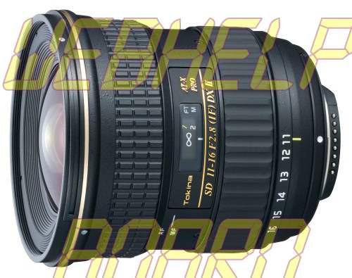 Tokina 11-16mm f/2.8 AT-X 116 Pro DX Digital Zoom Lens