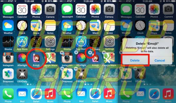 Touchscreen-Issues-Uninstall-defective-apps-iPhone-X