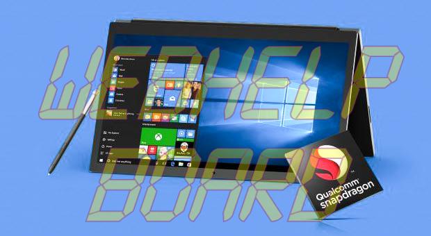 Windows 10 en Snapdragon 835