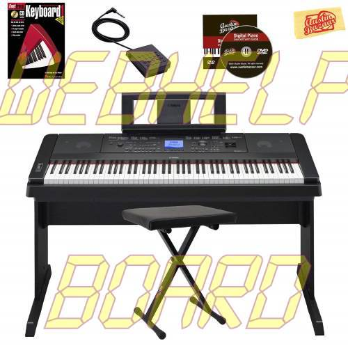 Yamaha DGX-660 Digital Piano