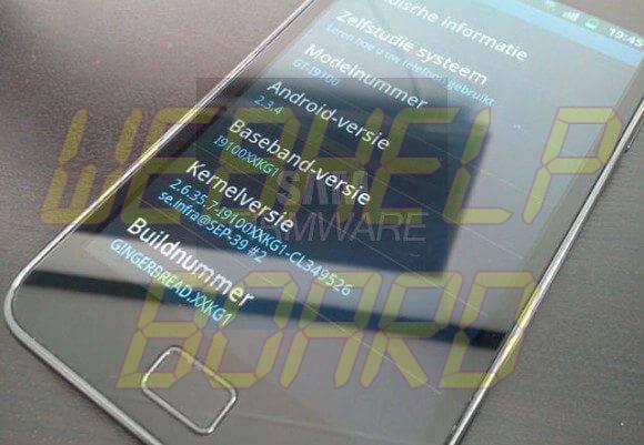 gsmarena 001 - Atualização do Galaxy S II para a versão 2.3.4 Gingerbread já disponível (leak)