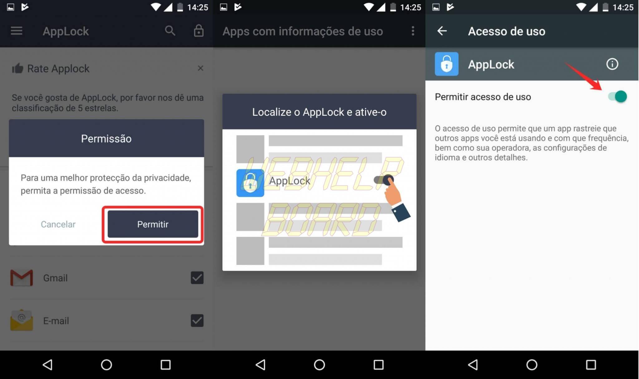 6 - Como usar um AppLock para por senha em seus aplicativos e tirar selfies de invasores