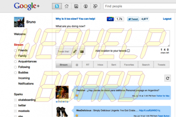 Twitter 610x405 - Tutorial: colocando o Twitter no seu perfil do Google+