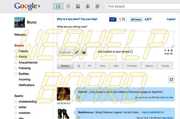 Twitter - Tutorial: colocando o Twitter no seu perfil do Google+
