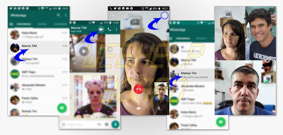 chamadas de video e audio em grupo pelo whatsapp - Tutorial: Faça chamadas de vídeo e voz em grupo no Whatsapp