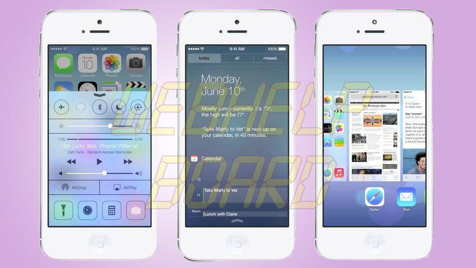 iOS 7 Beta 5 - iOS 7 beta 5 já está disponível para desenvolvedores