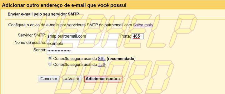 smt email p5 720x300 - Tutorial: Como configurar para Gmail para centralizar suas contas de e-mail