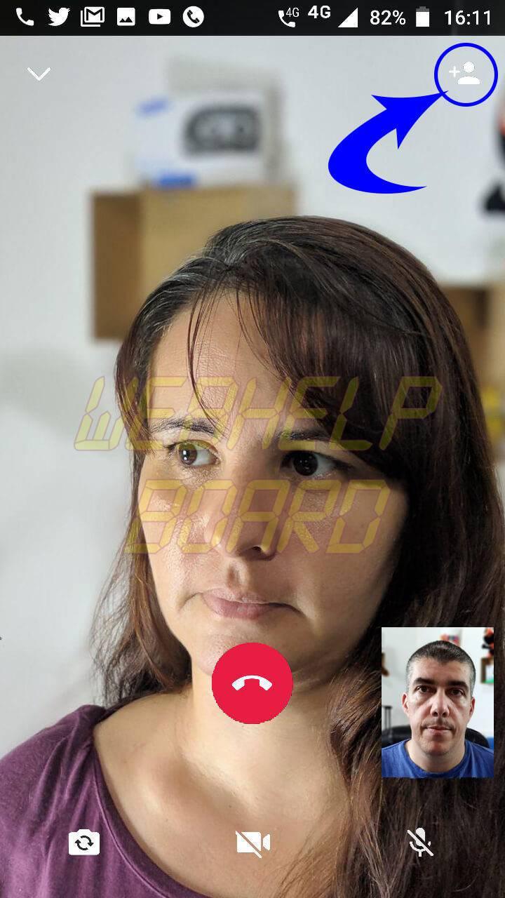 whatsapp chamadas de video em grupo passo04 - Tutorial: Faça chamadas de vídeo e voz em grupo no Whatsapp