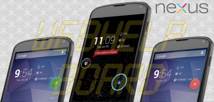 ParanoidAndroid o Nexus theme 720x346 - ROM ParanoidAndroid AOSPA 3.9+ baseada no Android 4.3 para o LG Nexus 4 (Mako)