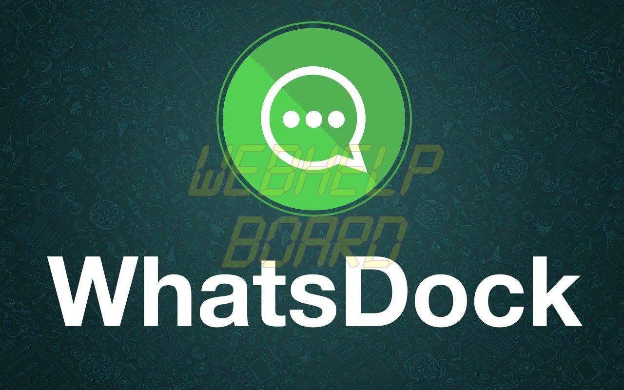 Saiba com instalar o whatsdock - Tutorial: Saiba como instalar o WhatsDock