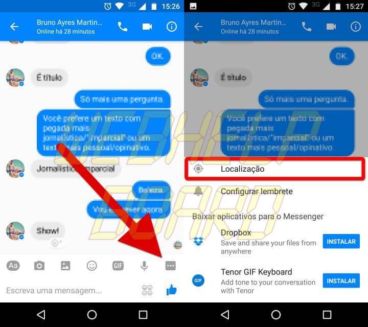 Screenshot 20170410 152612 horz 720x640 - Tutorial: Como enviar sua localização em tempo real para familiares e amigos