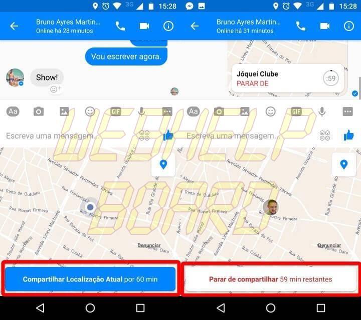 Screenshot 20170410 152822 horz 720x640 - Tutorial: Como enviar sua localização em tempo real para familiares e amigos