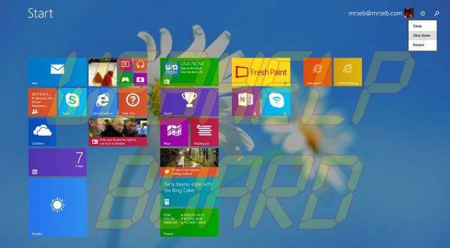 windows 8.1 start screen update 1  - Tutorial: instale o Windows 8.1 Update 1 agora