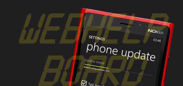 windows phone update - Fatos e Mitos da bateria em smartphones Android, iPhones e Windows Phones