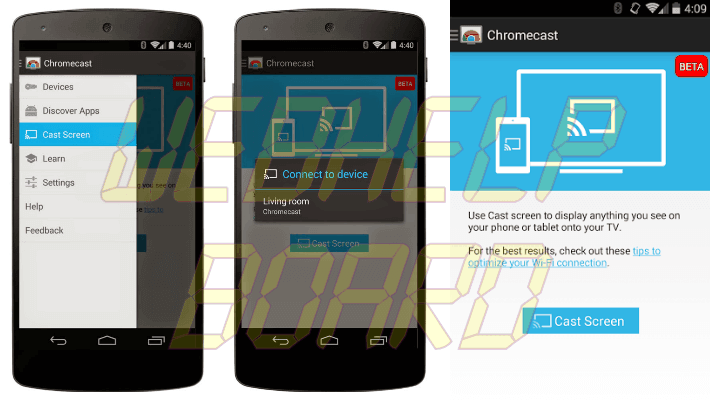Chromecast Mirroring in app - Como transmitir a tela do celular para a TV