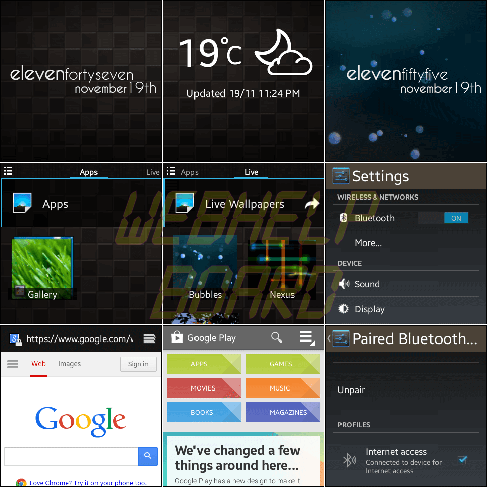 Galaxy Gear Null ROM - Tutorial e teste: ROM Null para o Galaxy Gear smartwatch