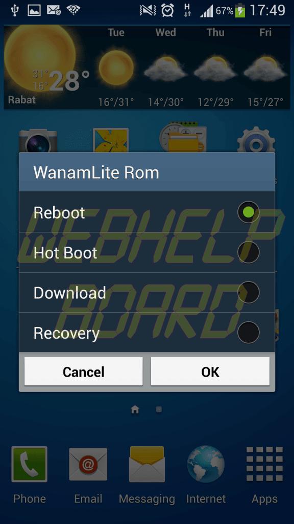Wanamlite Galaxy S4 Android 4.2.2 V1.4 2 - Tutorial: instalando a ROM WanamLite XXUBMGA V1.4 Android JB 4.2.2 no Galaxy S4 (GT-i9505)