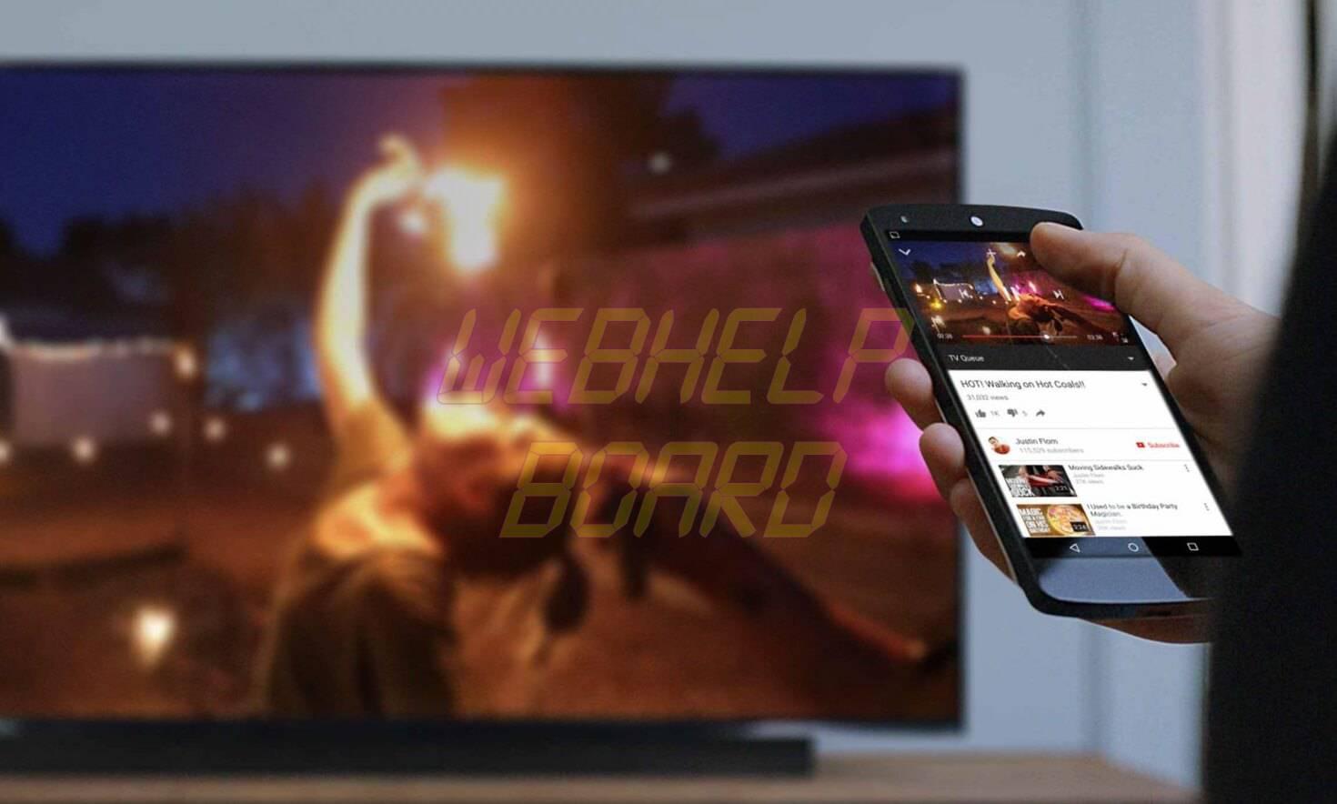 chromecast - Como transmitir a tela do celular para a TV