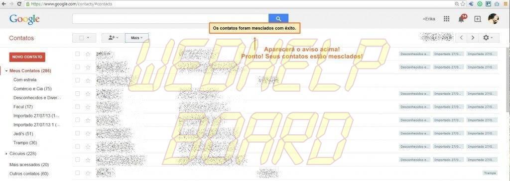 mesclar contatos4 - Tutorial: Mesclando contatos duplicados no Google