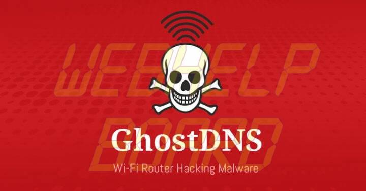 ghostdns botnet malware 720x376 - Confira se seu roteador está na lista dos afetados pelo GhostDNS