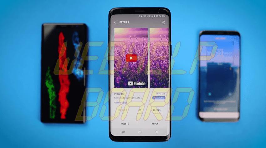 video 3 - Tela de bloqueio em video: saiba como mudar seu Galaxy S8, Note 8 ou S9