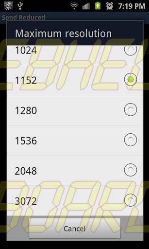Send Reduced Screenshot 01 - Tutorial: SendReduced