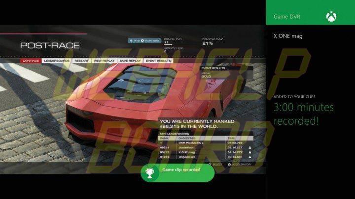 dvr1 720x405 - Upload Studio para Xbox One: será o fim das placas de captura?