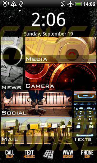 desktop visualizer 2 - Tutorial: mudando a cara do seu smartphone Android (Windows Phone 7)