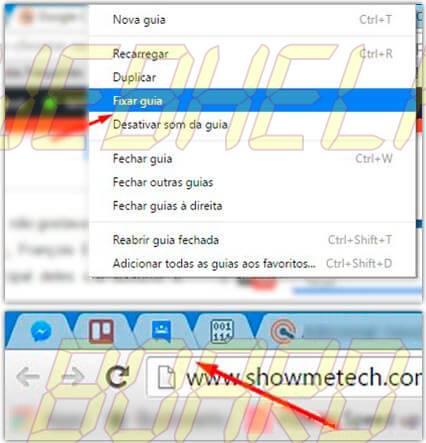 fixar guia chrome - Google Chrome: 10 dicas para você usar melhor o navegador