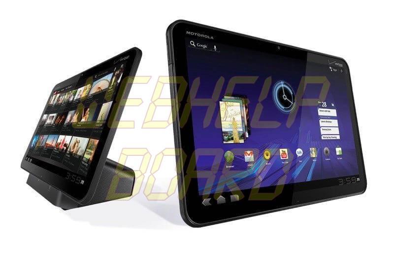 motorola xoom tablet - Tutorial: Motorola XOOM com Android 4.0.3 e telefone + SIP + SMS
