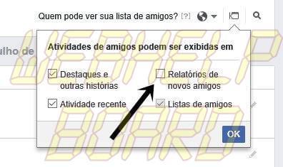 tuto face 05 - Facebook: como impedir que amigos saibam quem você adiciona
