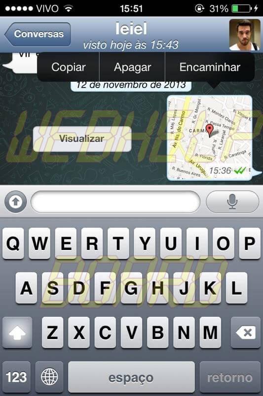 IMG 20131112 WA0018 - Whatsapp: como enviar uma localização falsa