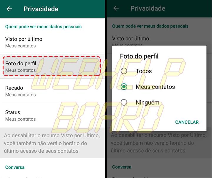 Showmetech tutorial whatsapp configuracoes de privacidade acessando itens de privacidade e seguranca 05 720x605 - Tutorial: como manter a privacidade no WhatsApp, sem perder a graça.