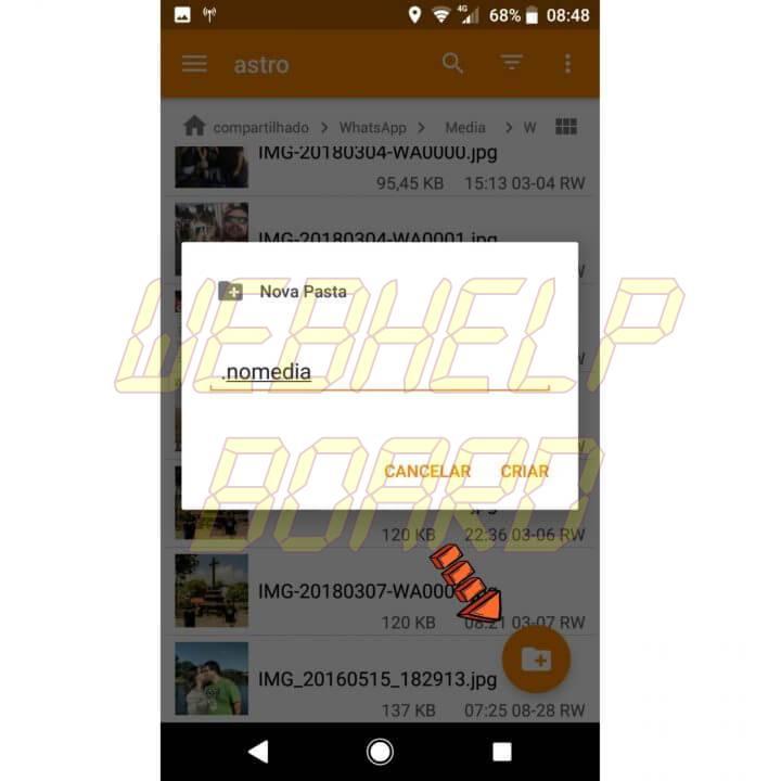 WhatsApp Image 2018 03 15 at 10.32.15 720x720 - Como esconder as fotos do WhatsApp da galeria do Android