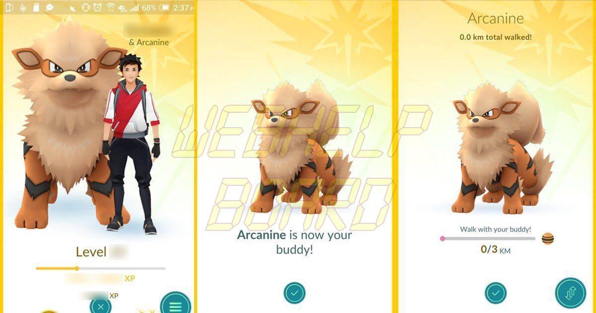 go buddy 1200x630 - Tutorial: Como trocar o seu Parceiro Pokémon em Pokémon Go