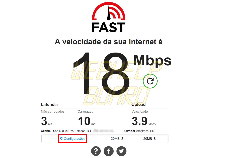 3 PC - Saiba como usar o FAST, da Netflix, para medir a velocidade de sua internet