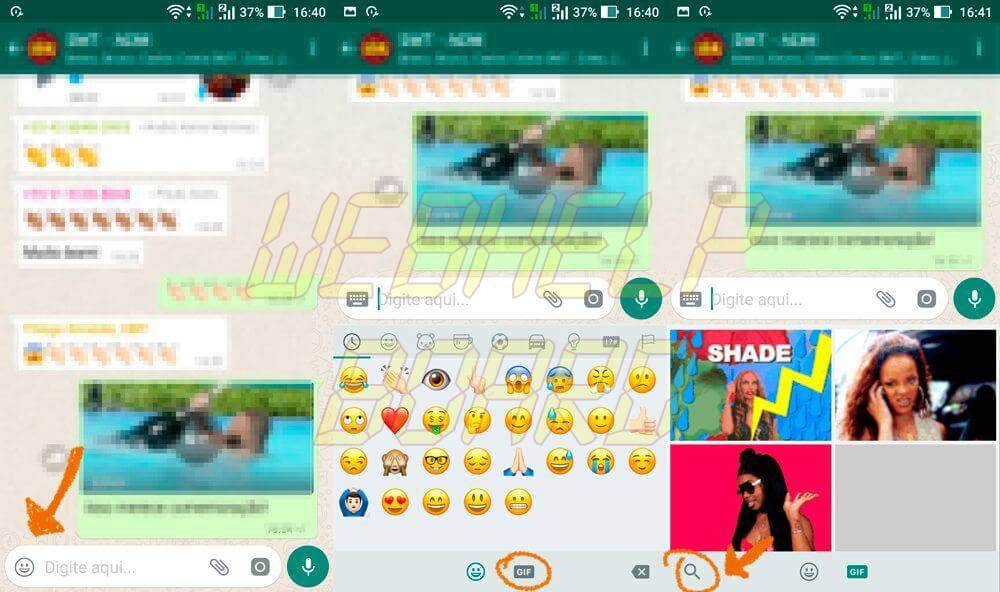 Android - Tutorial: Como enviar GIFs no WhatsApp