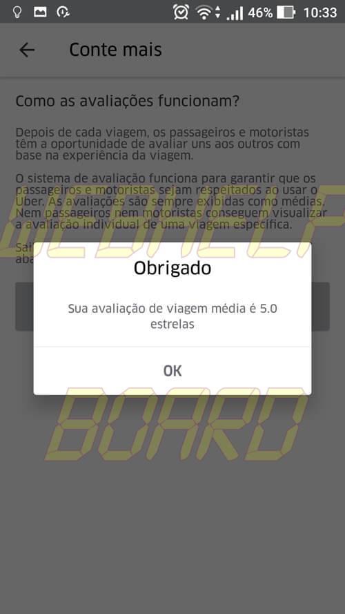 Screenshot 20161025 103339 - Tutorial: como descobrir a sua avaliação de passageiro no Uber