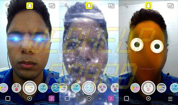 lentes snapchat android - Tutorial: como ativar as lentes do Snapchat no Android