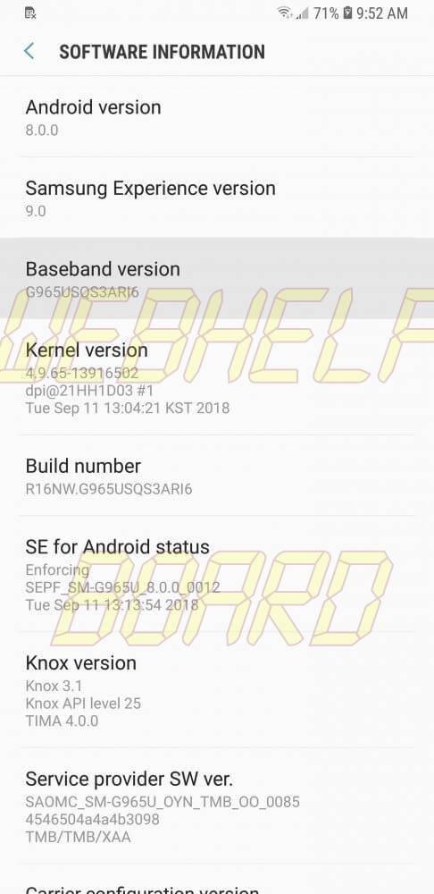 s3 486x1000 - Como instalar a versão beta do Android Pie 9 em seu Galaxy S9 ou S9+
